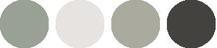 Silver sage wedding colours